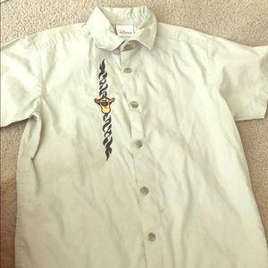 Boy's Disney khaki Polo shirt